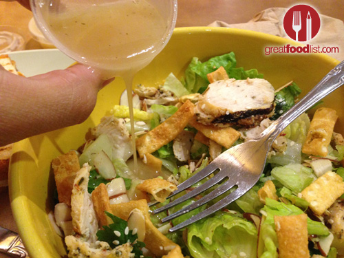 Asian Sesame Chicken Salad at Panera Bread