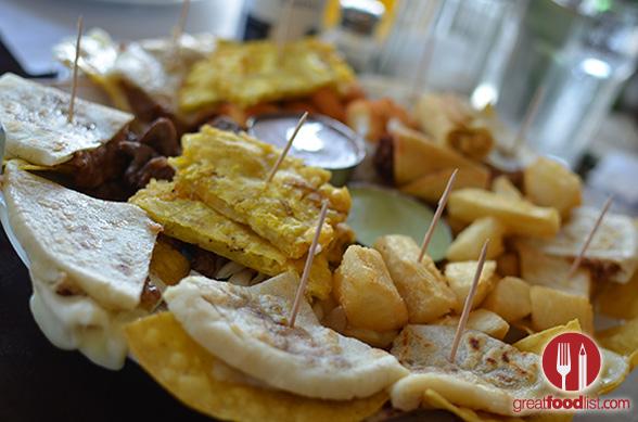 Salvadorean Platter