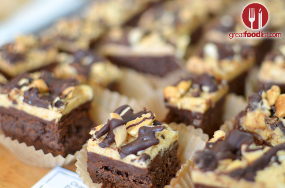 Chocolate Ganache Peanut Butter Cake
