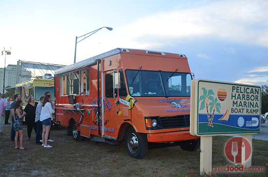 Box Of Chacos Food Truck at North Bay Village