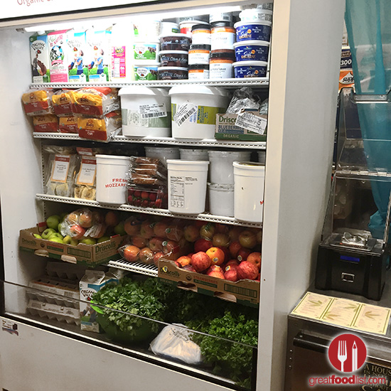 Organic produce and supplies, for cooking and juicing